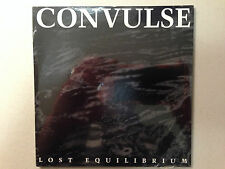 CONVULSE - LOST EQUILIBRIUM 1993 1PR EP RE-ISSUE ON RELAPSE NEW! XYSMA DEMIGOD