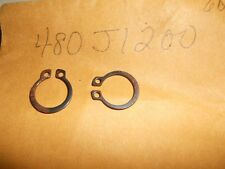NOS Kawasaki Rocker Shaft Circlip 12MM KZ1000 480J1200 QTY2