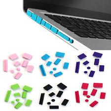 9pcs Silicone Anti Dust Plug Ports Cover Set For Laptop Macbook Pro 13 15