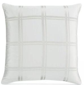 Hotel Collection Radiant EURO Pillow Sham Ivory  Nwop