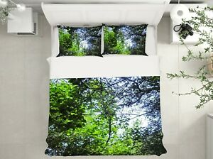3D Tree Branches NAO9269 Bed Pillowcases Quilt Duvet Cover Set Queen King Fay