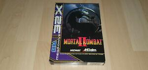 Sega 32x Game - Mortal - PAL - Selten - NEU mit Sega Siegel - Original