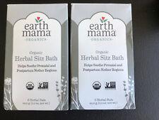 EARTH MAMA Organic Herbal Sitz BATH for Pregnancy and Postpartum 12 TOTAL