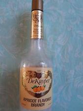 DEKUYPER brandy empty BOTTLE
