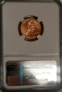 2009 BIRTH 1C NGC MS66RD LINCOLN CENT