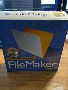 Filemaker Pro 5 Upgrade Version für Windows und Macintosh - Lizenzpaket 5 Nutzer