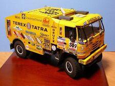 The Paris Dakar Rally Tatra_815 racing Truck car paper Model Do It Yourself DIY