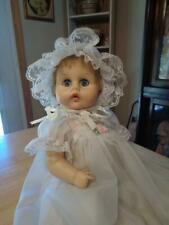 """Vintage 1964 American Character Vinyl Tiny Tears Doll~17""""~Pretty Outfit~"""