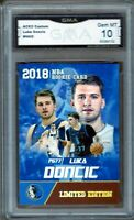 GMA 10 Gem Mint LUKA DONCIC 2018/19 Rookie Gems Limited Edition ROOKIE CARD!