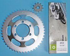 Zündapp CS 25 NEU Kettensatz 11 - 47 Absatzhöhe 20,5mm  + Esjot Kette 415H NEU