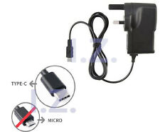 "UK 2A TYPE C MAINS CHARGER FIT SAMSUNG GALAXY TAB A 10.1""(2019) SM-T510/T515"