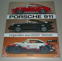 Joachim Klang: Porsche 911 Legenden aus Lego Steinen Buch Heel Buch NEU!