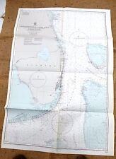 VINTAGE AMMIRAGLIATO grafico di CAPE CANAVERAL A Key West, RIF. 2866 (105 x 70 cm).