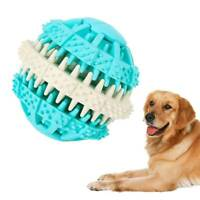 Pet Dog Toy Interactive Rubber Ball Dog Cat Teeth Chew Toys Tooth Cleaning Balls