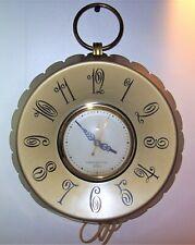 VINTAGE GENERAL ELECTRIC WALL CLOCK  MODEL NO. 2H55