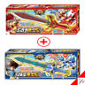 MONKART DRAKA + LEO MONSWORD Weapon Red Sword Transweapon Kids Toy-Light,Sound