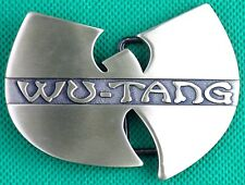 "Belt Buckle ""WU-TANG"" 3.8cm Wide Belt, Custom Made, DIY, Metal Casting."