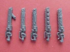 Space Marine Vanguard veterano 5 X chainswords-bits 40K