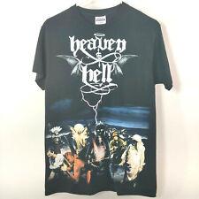 Vintage 90s Heaven And Hell Black Adult Size S Sabbath Dio Concert Tour T Shirt