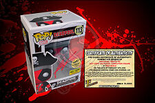 Deadpool Pirate 113 Hot Topic Exclusive Funko POP! Figure  SIGNED BY ROB LIEFELD