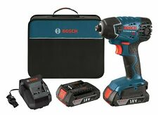 Bosch 25618-02 18V 1/4 In. Hex Impact Driver Kit NEW w/Full Warranty