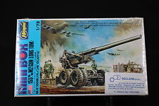 XO066 HASEGAWA 1/72 maquette militaire MB 002 200 US Army 155 mm M2 Gun Long Tom