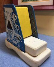 Vintage 1960's PLAYSKOOL WOOD SHOE learning toy.