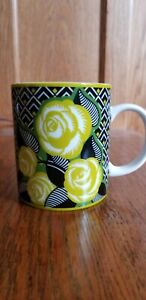 Vera Bradley coffee mug Neon Rose