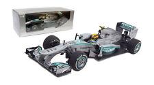 Minichamps Mercedes F1 w04 # 10 De Malasia Gp 2013-Lewis Hamilton Escala 1/18