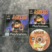 Akuji The Heartless PS1 PlayStation 1 PAL Game Complete Black Label Action