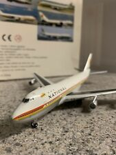 Craftman 400 scale diecast model National Boeing 747 Commercial Airliner N77772