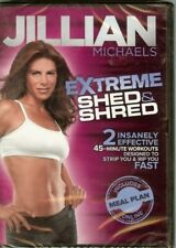 Jillian Michaels - Extreme Shed & Shred - DVD - NEW