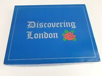 Discovering London Family Board Game Travel Game Touring  2-6 Players Complete