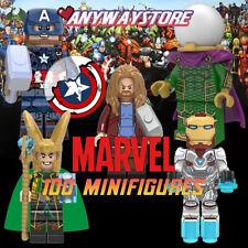 NEW Marvel Minifig Avangers Infinity War End Game Super Heroes Fits lego block