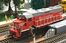 Model Railroad Trains HO Scale Athearn GP 35 Burlington Powered Locomotive