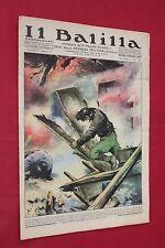 rivista a fumetti IL BALILLA Supplemento Popolo d'Italia ANNO XV N.17 (1937)