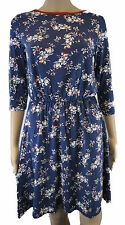 Unbranded Crew Neck 3/4 Sleeve Tunic Dresses for Women