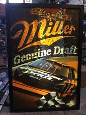 #2 Rusty Wallace Race Car 1999 Miller Genuine Draft Nascar Lighted Wall Sign