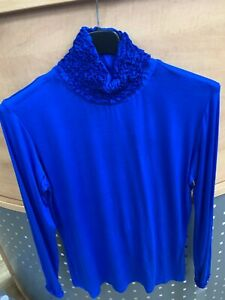 BRAND NEW LADIES ITALIAN POLO NECK JUMPERS SWEATERS ONE SIZE FIT SIZES 10-20
