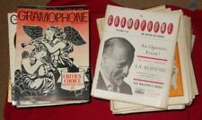 GRAMOPHONE PUBLICATION ISSUES 1970'S & 1950'S - SELECT ISSUE