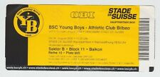 Orig.Ticket   Europa League  2009/10   YOUNG BOYS BERN - ATHLETICO BILBAO !! TOP