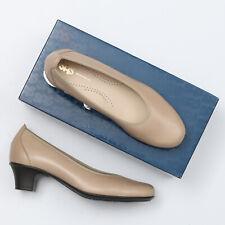 SAS Milano Crema Beige Leather Pump Heels - Size 9 M
