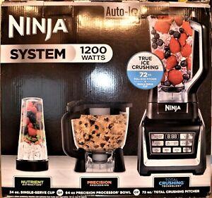 Ninja BL910 1200W Auto-IQ One Touch Intelligence Blender System