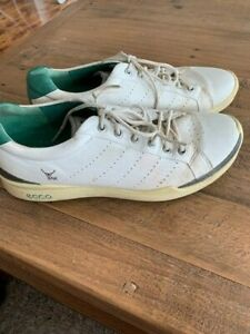 Ecco Biom Yak Leather Spikeless Golf Shoes - size 44
