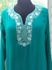 Ladies' Seafoam Color Blouse / Tunic - S/M