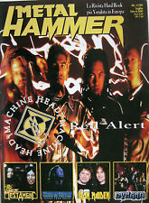 METAL HAMMER 7 1999 Machine Head Iron Maiden SOD Testament Rockbitch Immortal