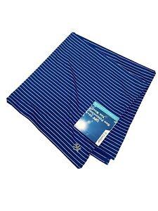 Coolibar UPF 50+ Unisex Bandana Performance Sun Protection Scarf Blue Stripe