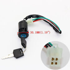 Universal 4Wire Ignition Key Switch For 50cc 110cc POCKET PIT Quad Dirt Bike ATV