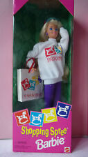 BARBIE blonde SHOPPING SPREE -Shopping Magasin New Yorkais F.A.O. SCHWARZ- 1994