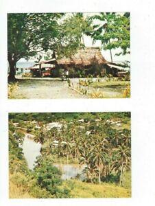 SOLOMON ISLANDS  Postcards    EX DECEASED ESTATE    (4 cards)